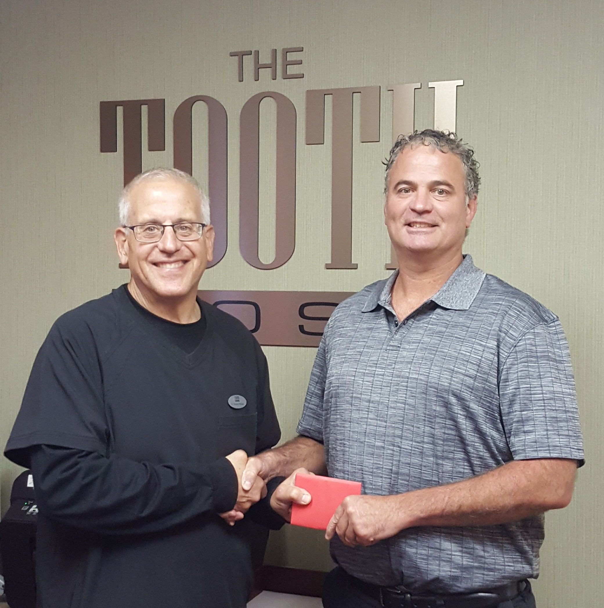 South Weymouth Dentist Richard Wolfert with Brian Dean