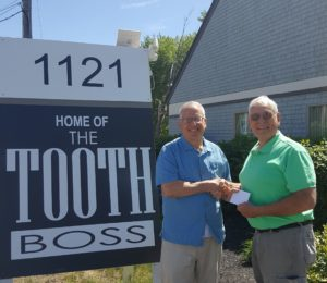 photo of South Weymouth ma dentist Dr. Richard Wolfert and David Maynard